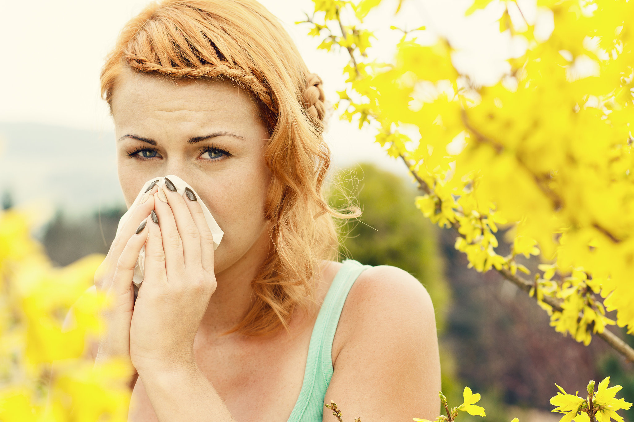 Our Florida lifestyle has us outdoors constantly. It is nearly impossible to avoid most allergens.